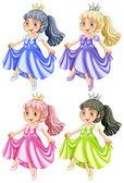 Princesa — Vetorial Stock
