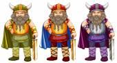 Vikings — Stock Vector