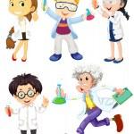 Постер, плакат: Scientists and doctors