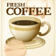 Coffee poster — Stock Vector #57427403