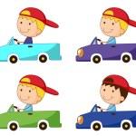 Box car kid — Stock Vector #57427481
