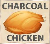 Chicken poster — Cтоковый вектор
