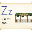 A letter Z for zoo — Stock Vector #58547831