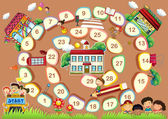 A board game — Stock Vector