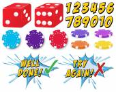 Game set — Stock Vector