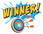 Winner — Stock Vector