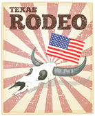 Rodeo poster — Stock Vector