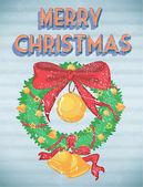 Noël rétro — Vecteur