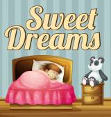 Sweet dream — Stock Vector