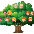Family tree — Stock Vector #59250925