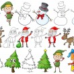 A christmas theme — Stock Vector #59251645
