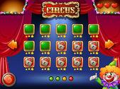 A circus game — Stock Vector