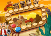 Board game — Stock Vector