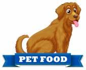 Pet food — Stock Vector