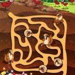 Постер, плакат: Maze game