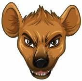 Hyena — Stock Vector