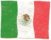Mexico Flag — Stock Vector