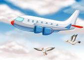 Самолет — Cтоковый вектор