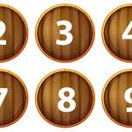 Number 1-10 — Stock Vector #60431595