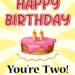 Birthday — Stock Vector #62249107