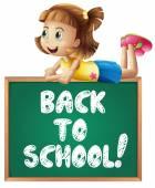 Back to school — Vettoriale Stock