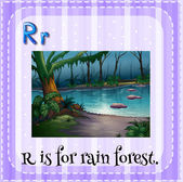 Letter R — 图库矢量图片