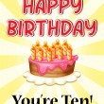 Birthday card — Stock Vector #62313511