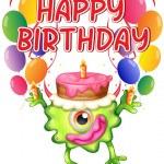 Birthday card — Stock Vector #62314075