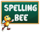 Spelling bee — Stock Vector