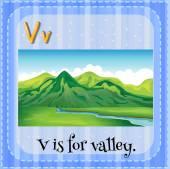 Letter V — Stock Vector