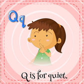 Letter Q — Stock Vector