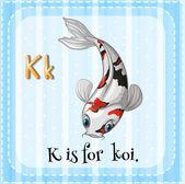 字母 k — 图库矢量图片