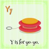 Letter Y — Stock Vector