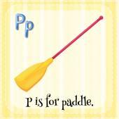 Une lettre P — Vecteur