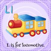 Letter L — Stock Vector