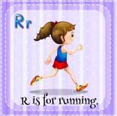 A letter R — Stock vektor