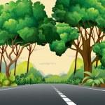 A narrow road — Stock Vector #63873527