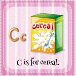 Letter C — Stock Vector #63877205