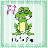Γράμμα f — Διανυσματικό Αρχείο