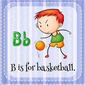 Letter B — Stock Vector