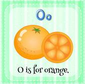 Letter O — Cтоковый вектор