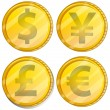 Currency — Stock Vector #64728457