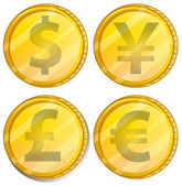 Currency — Stock Vector