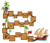 Boardgame — Stock Vector
