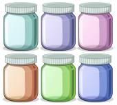 Jars — Stock Vector