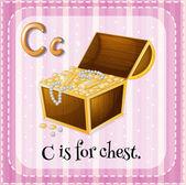 字母 c — 图库矢量图片
