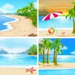 Beach — Stock Vector #67129263
