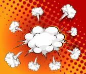 Комическое облако — Cтоковый вектор