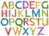 Alphabets — Stock Vector