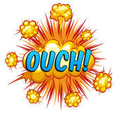 Ouch — Stock Vector